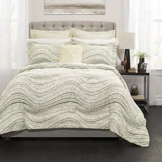 Lush Decor Pixel Wave Line 6 Piece Comforter Set (2 options available)