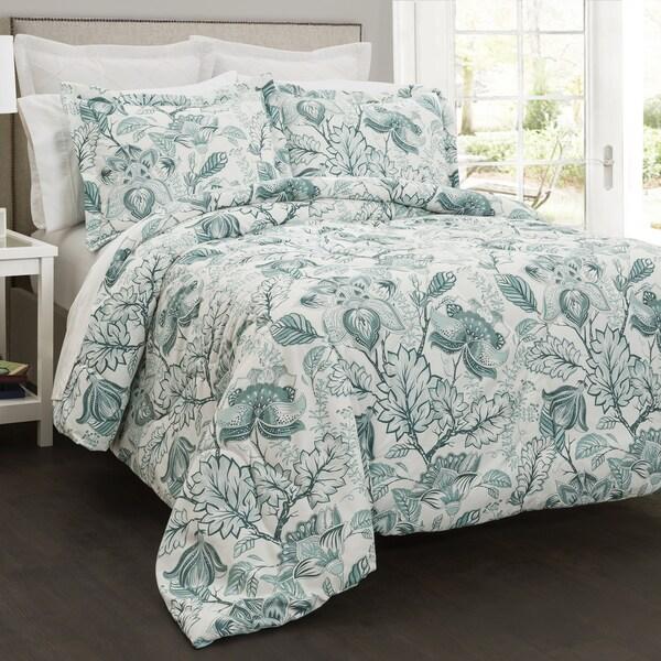 Lush Decor Cynthia Jacobean 5 Piece Comforter Set