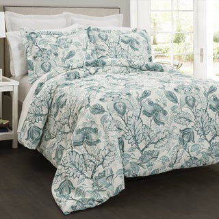 Lush Decor Cynthia Jacobean 5 Piece Comforter Set