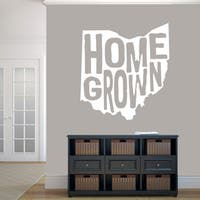 Homegrown Ohio Wall Decal