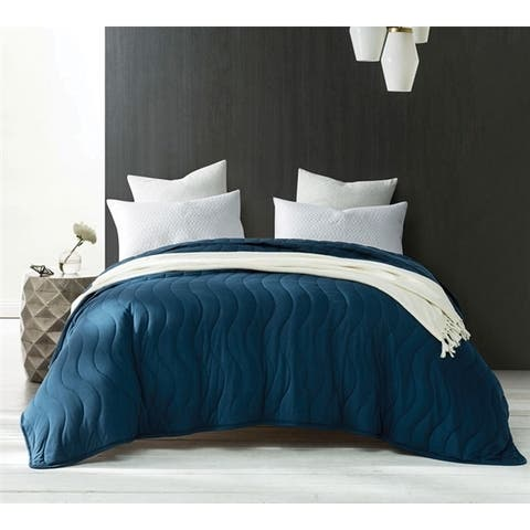 BYB Modal Cooling Nightfall Navy Quilt (Shams Not Included)