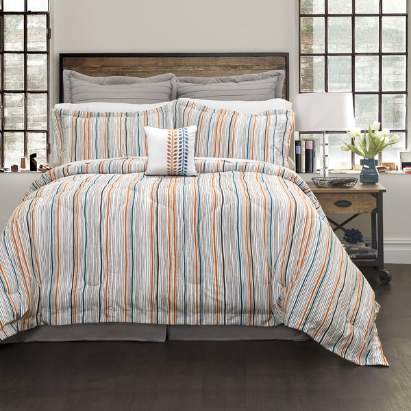 Lush Decor Abby 6 Piece Comforter Set
