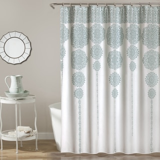 Link to Lush Decor Stripe Medallion Shower Curtain Similar Items in Shower Curtains