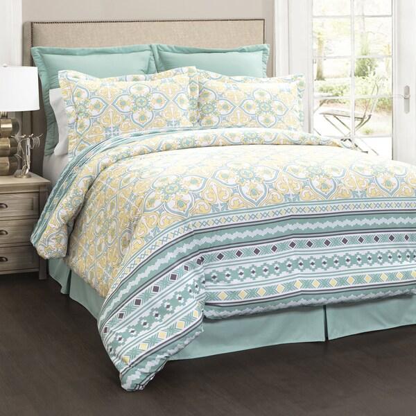 Lush Decor Carlene 6 Piece Comforter Set