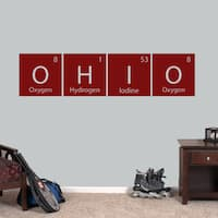 Ohio Perdiodic Table Wall Decal