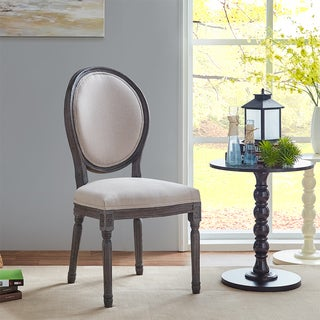 Queen Anne Weathered Dining Chairs (Set of 2)