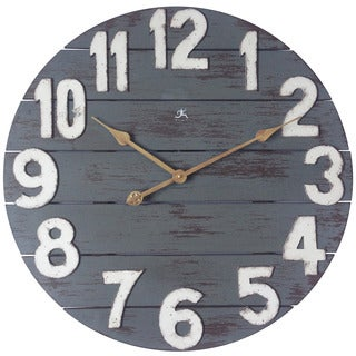 Infinity Instruments Tree House 23.75-inch Round Wall Clock