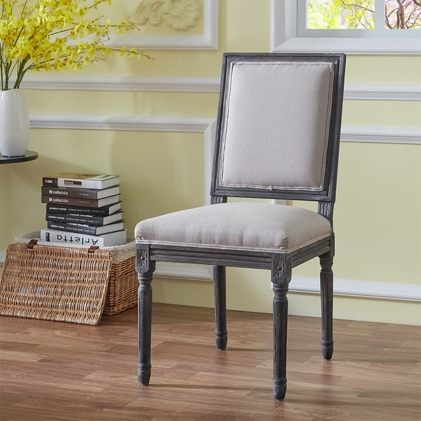 Shop Robert Beige Weathered Dining Chairs Set Of 2
