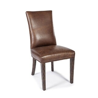 Lazzaro Leather Santa Fe Dining Calvados Chair