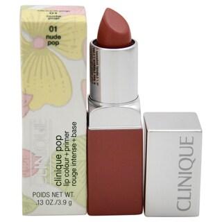 Clinique Pop Lip Colour + Primer 01 Nude Pop