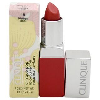 Clinique Pop Lip Colour + Primer 18 Papaya Pop