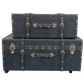 Distressed Navy Texture Trunks