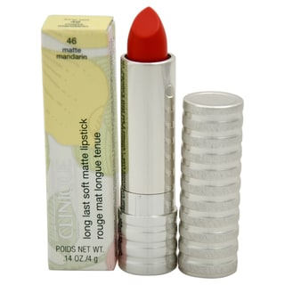 Clinique Long Last Soft Matte Lipstick 46 Matte Mandarin