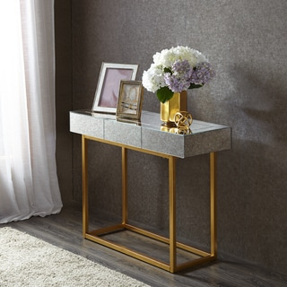 Madison Park Glam Willa Mirror/ Gold Console Table
