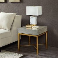 Madison Park Glam Willa Mirror/ Gold End Table