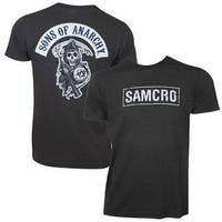 Sons Of Anarchy Men's Samcro Grey T-shirt