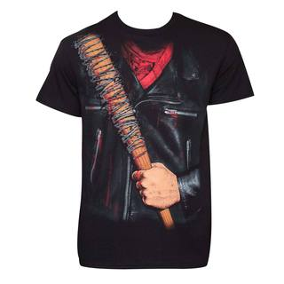 Walking Dead Negan Black Cotton T-Shirt