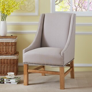 Dany Beige Fabric Dining Chair