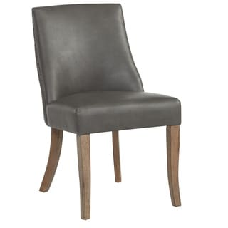 Alton Faux Leather Dining Chair (Set of 2)