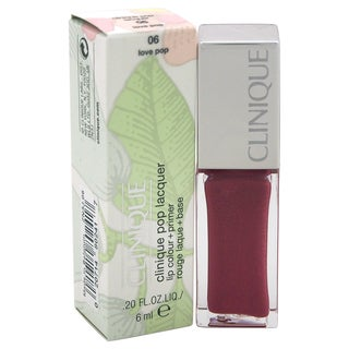 Clinique Pop Lacquer Lip Colour + Primer 06 Love Pop
