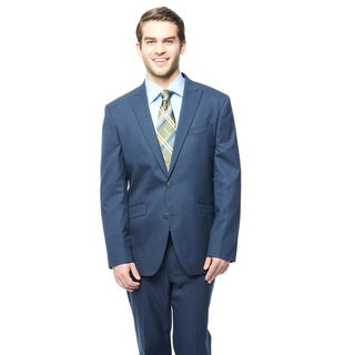 Kenneth Cole Reaction New Navy Grid Suit