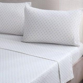 Brielle Fashion Cotton Jersey Pillow Cases (Set of 2)