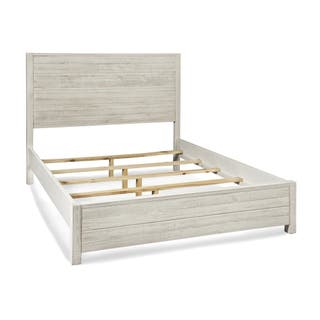 Grain Wood Furniture Montauk King Solid Panel Bed