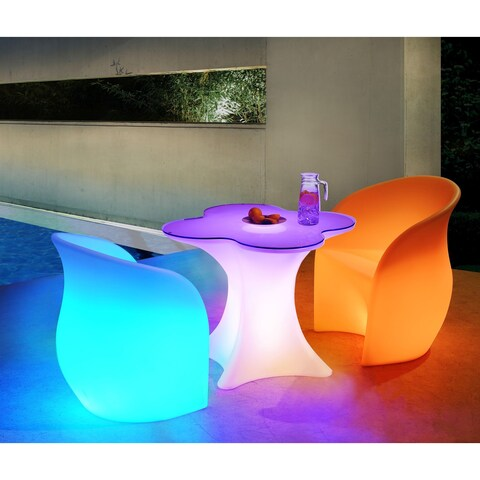 Sunjoy LED 3-piece Bistro Sets