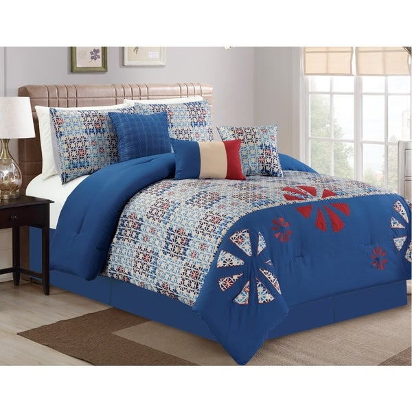 Ferris 7-piece Comforter Set. Opens flyout.