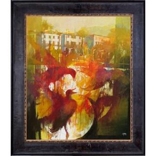 Alex Bertaina 'Omaggio a Mergozzo' Fine Art Print on Canvas