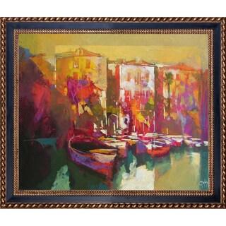Alex Bertaina 'Mergozzo' Fine Art Print on Canvas