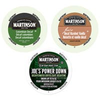 Martinson Decaf Collection of Flavored Coffees, Coffees That Give You the Same Power Packed Punch Without Any Caffeine, 72 Count