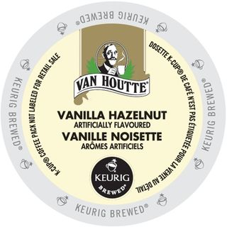 Van Houtte Vanilla Hazelnut Coffee Portion Pack for Keurig Brewers