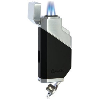 Caseti Cozmo Triple Flame Lighter - Matte Black