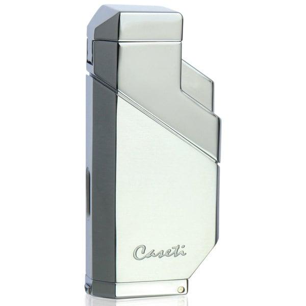 Caseti Cozmo Triple Flame Lighter - Chrome