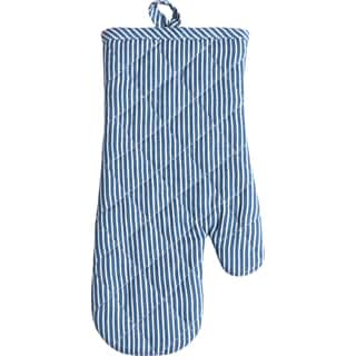 Railroad Stripe Oven Mitt