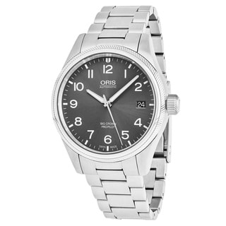 Oris Men's 751 7697 4063 MB 'Big Crown' Grey Dial Stainless Steel Swiss Automatic Watch