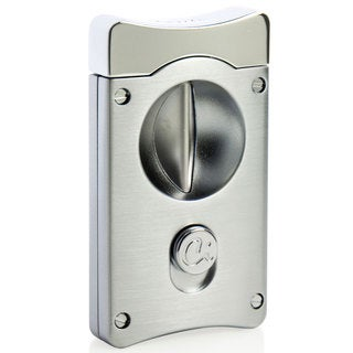 Caseti Wedge V Cigar Cutter - Satin Chrome