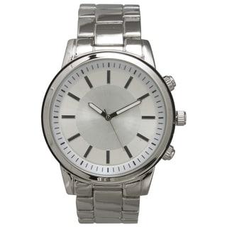 Olivia Pratt Men's Simple and Basic Stainless Steel One-size Bracelet Watch