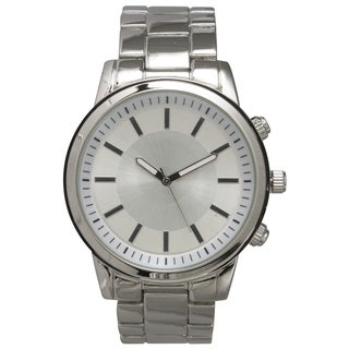 Olivia Pratt Men's Simple and Basic Stainless Steel One-size Bracelet Watch