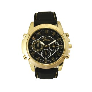 Olivia Pratt Men's Faux Chronograph Silicone Watch https://ak1.ostkcdn.com/images/products/14229625/P20820916.jpg?impolicy=medium