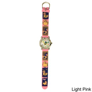 Olivia Pratt Kids' Fun Ducks Silicone Watch (More options available)