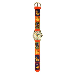 Olivia Pratt Kids' Fun Ducks Silicone Watch