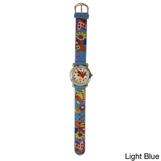 Olivia Pratt Kids' Silicone Butterflies and Flowers Watch (5 options available)