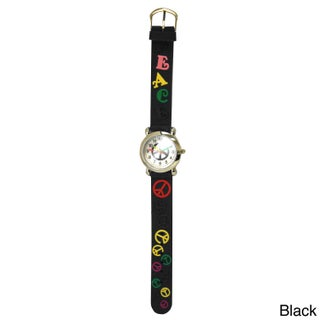 Olivia Pratt Kids' Peace Silicone One Size Watch (5 options available)