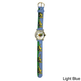 Olivia Pratt Kids' Tractors Silicone One-size Watch (More options available)