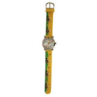 Olivia Pratt Kids' Tractors Silicone One-size Watch
