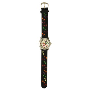 Olivia Pratt Kids Musical Notes Multicolor Silicone Watch (4 options available)