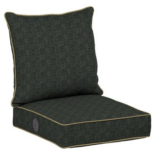 Bombay Outdoors Green Adjustable Comfort Deep Seat Cushion Set