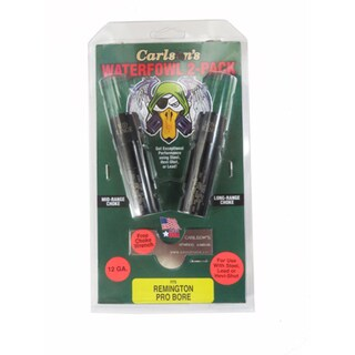 Carlsons Remington Pro Bore Choke Tube 12 Gauge, Waterfowl, 2 Pack